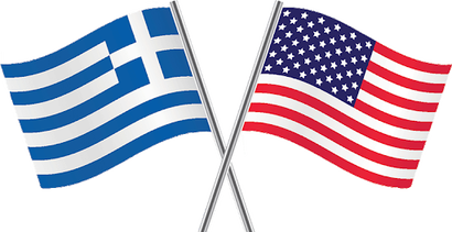 Greek-American Flages